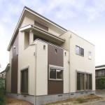 ナチュラルでシンプルなデザインの自然素材注文住宅