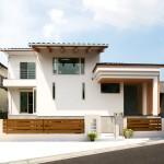 県産の無垢材を豊富に用いた高級感ある大型注文住宅