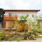 自然素材を豊富に用いた和モダンの注文住宅